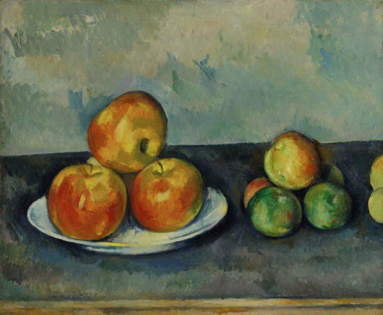 Cézanne et les compositions triangulaires