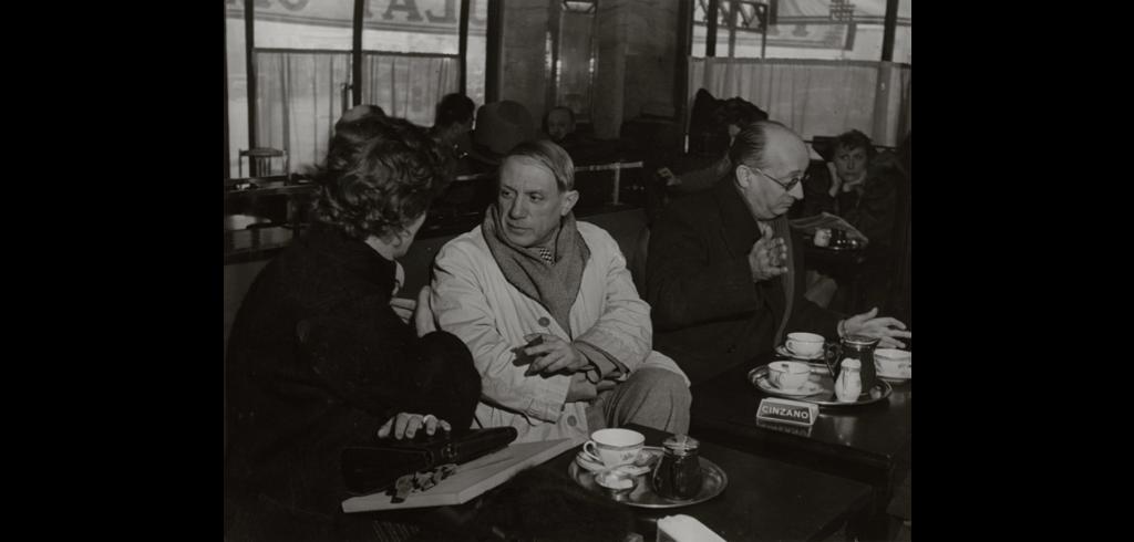 Picasso au café de Flore